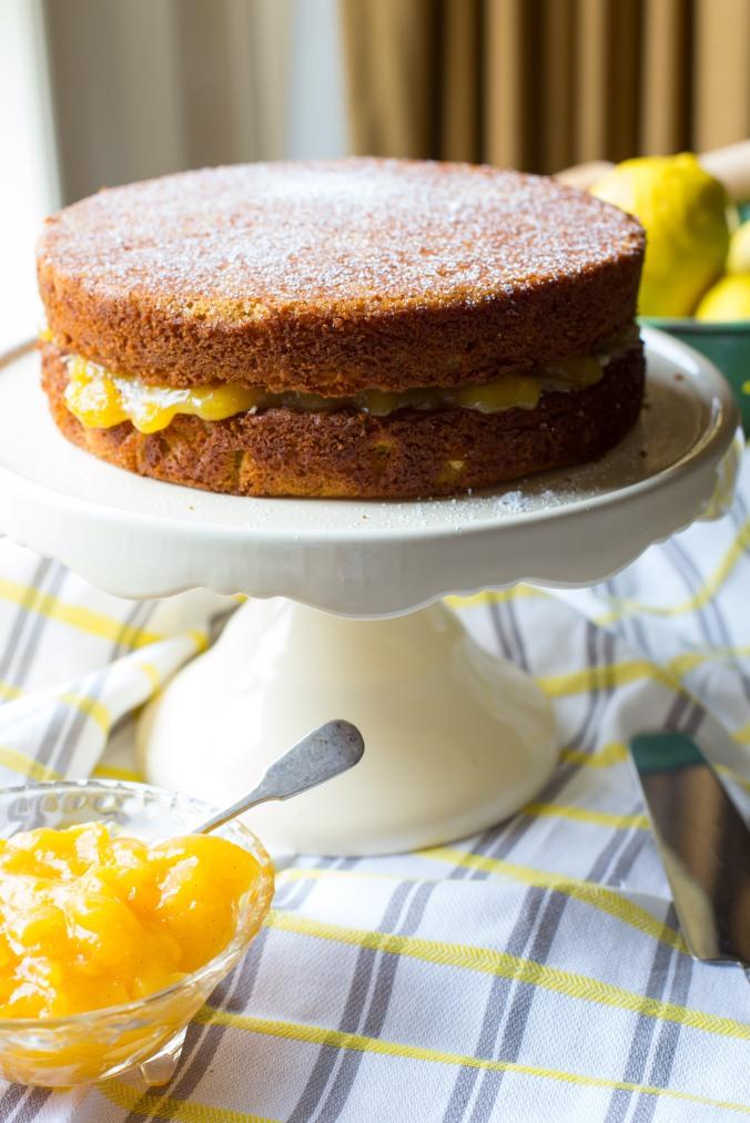 almond and panela cake-11