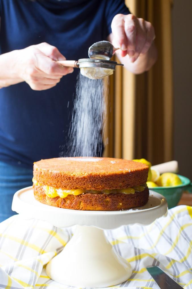 almond and panela cake-8