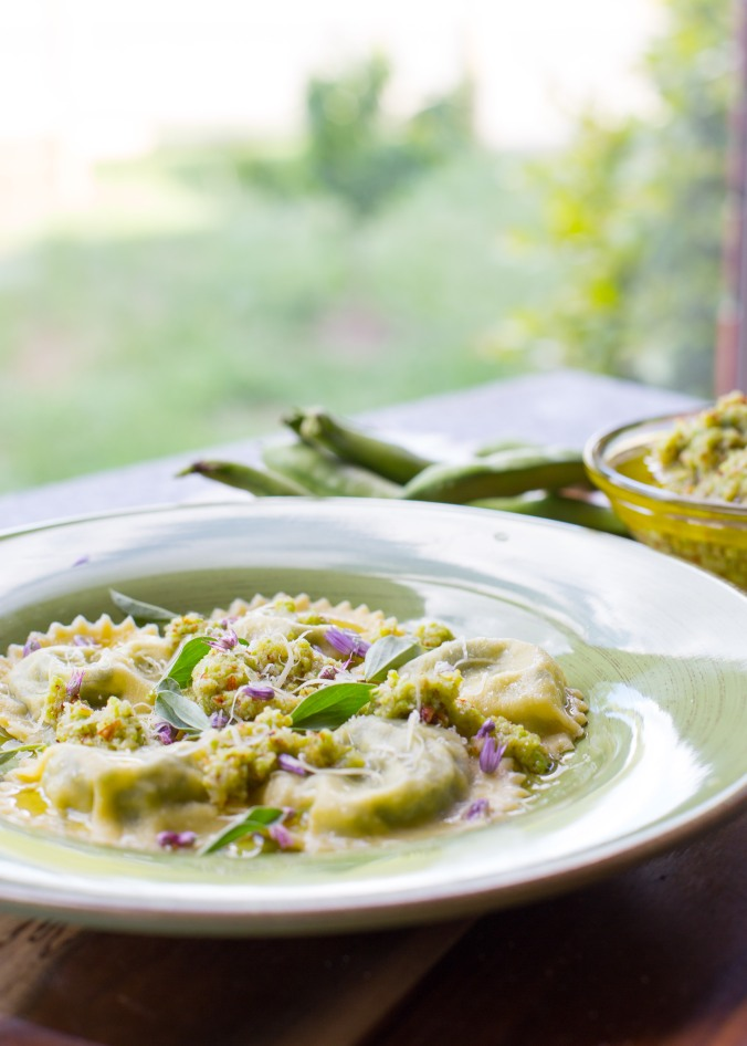 broad bean ravioli-6