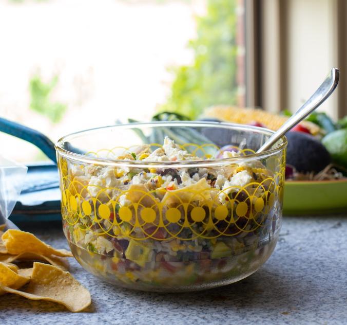 mexican gaucamole salad-3