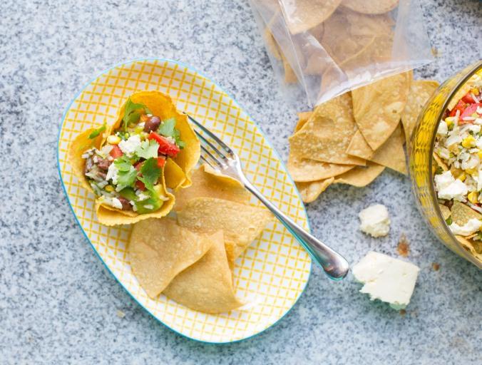 mexican gaucamole salad-6