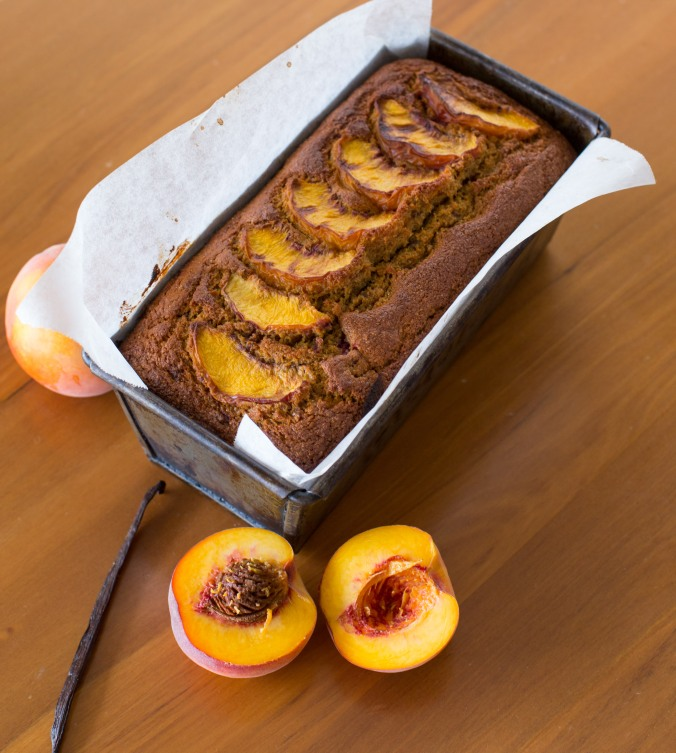 peach and raspberry loaf-2